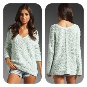 Free People Shaggy Songbird Oversized Sweater